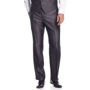 INC London Men's Gray Dress Pants
